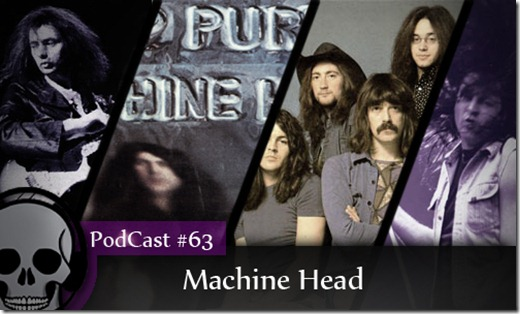 Capa Podcast Machine Head