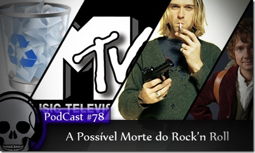 Vitrine Podcast Morte Rock'n Roll