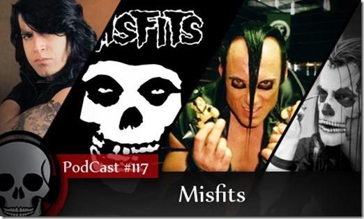 Vitrine Podcast Misfits