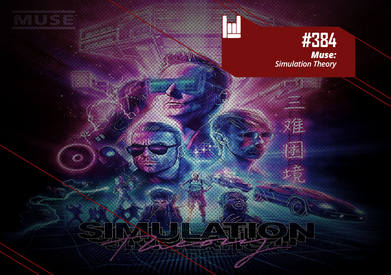PodCast #384 – Muse: Simulation Theory Podcast – Crazy Metal